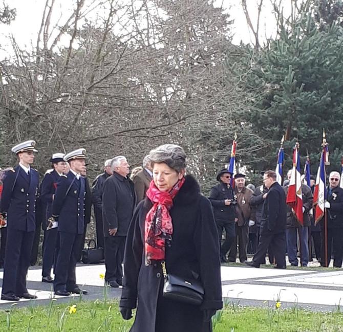 Cérémonie du 19 mars au Parc de Parilly et dans la commune de Messimy