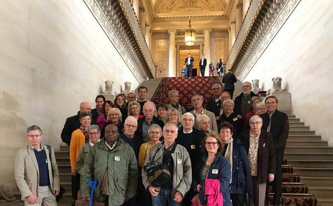 Visite du Sénat avec des élus du Rhône le mercredi 23 octobre 2019
