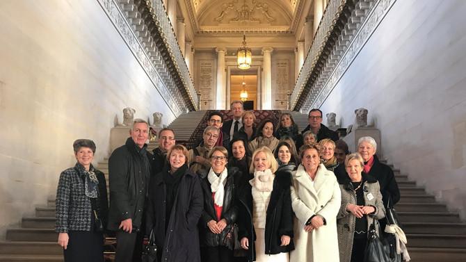 Visite des Elus de la mairie du 6è de Lyon le 31 novembre 2017