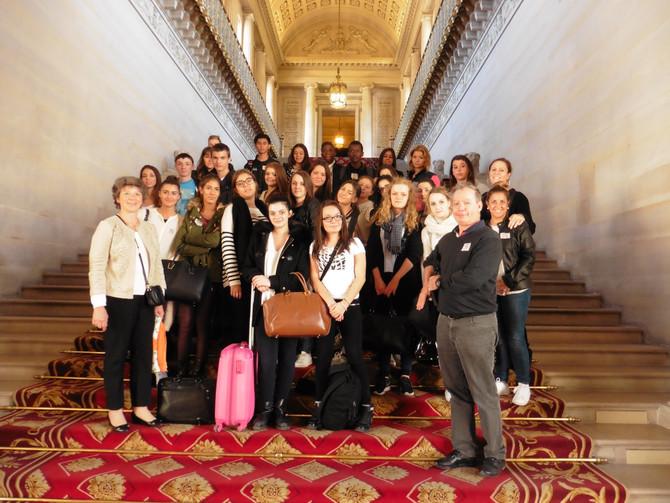 Visite du Sénat avec l'école Saint Joseph de Lyon
