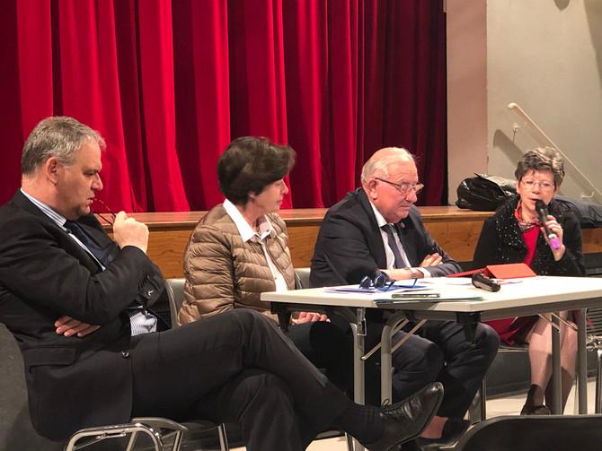 Réunion à Beaujeu avec les Sénateurs du Rhône le samedi 7 avril 2018