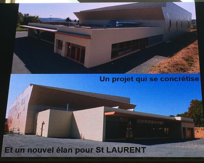 Inauguration de la salle pluriactivités à Saint Laurent de Chamousset samedi 28 septembre 2019