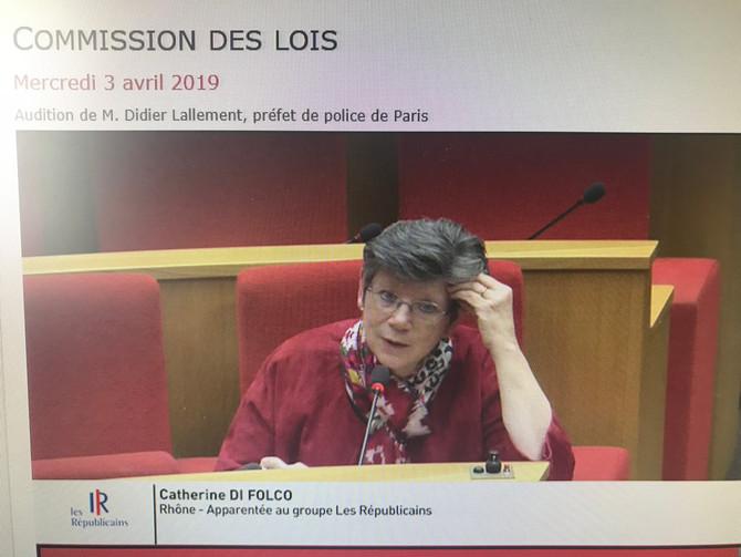 Audition de Monsieur Didier LALLEMENT, Préfet de police de Paris, sur les moyens mis en place pour f