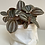 Thumbnail: White small vintage sack with gorgeous plant included, a perfect gift