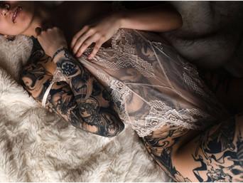 Earthy Kelowna Boudoir Photography
