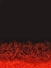Pluie noire et rouge