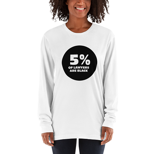 5% Long Sleeve T-shirt
