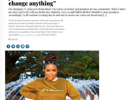 Attorney Jas In the Media: You don't have to change anything