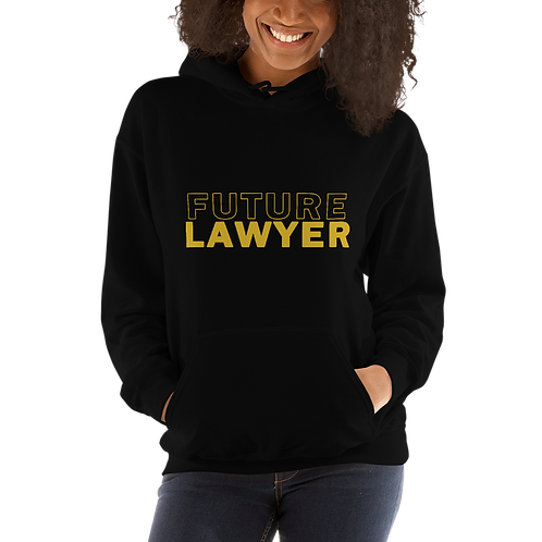 Gold Future Lawyer Hoodie