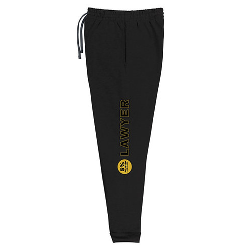 Gold Lawyer Joggers