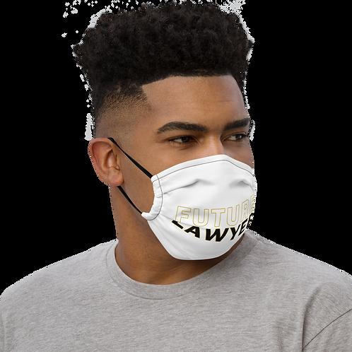 Future Lawyer Premium Face Mask