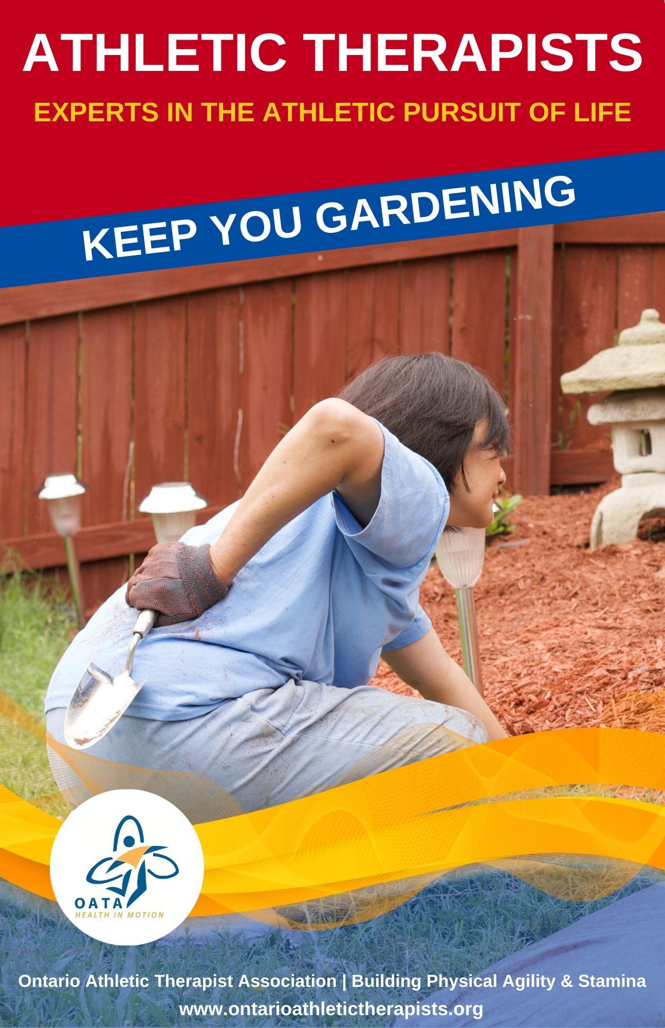 Keep You Gardening