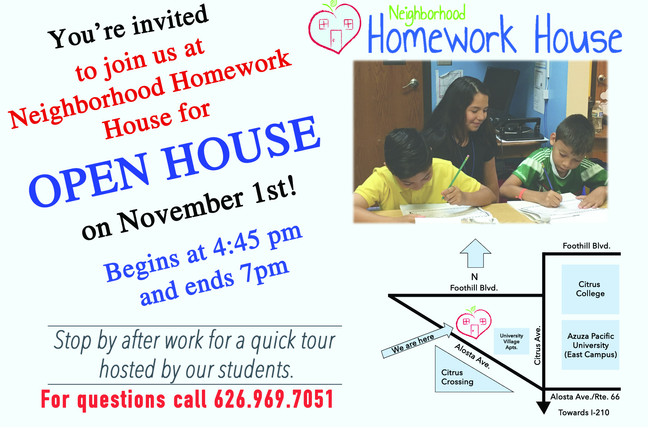 Come One Come All! Open House Is Here!