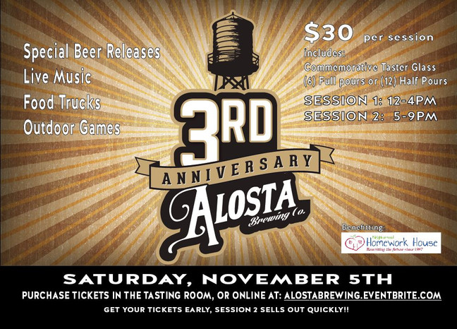 Enjoy some Alosta Brews to benefit us!