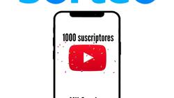 Sorteo 1000 Suscriptores de YouTube