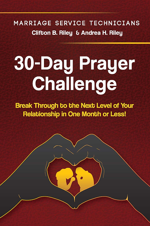 30-Day Prayer Challenge Red Cover