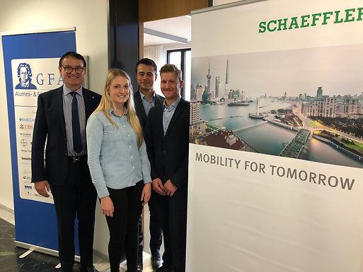 GFA supporter Schaeffler gives Workshop at House of Finance November 28th, 2019