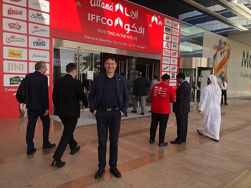 Dr. Trummer visits World Trade Center in Dubai, February 2020