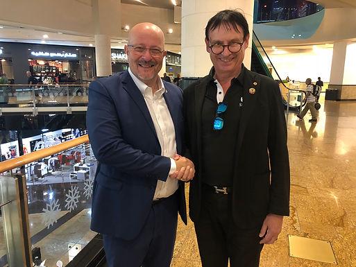 Dr. Trummer received Lions International Award in Dubai, February 2020