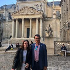 Dr. Trummer visits Sorbonne Université in Paris, September 2021