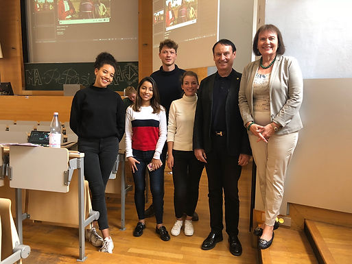 Dr. Trummer attends Enactus World Cup Pre-Presentations at University of Mannheim September 2019