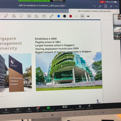 Executive Suite Leadership Dr. Trummer: Guest lecture with Singapore Mgt. University, Jun 14th, 2021