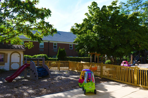Outdoor Toddler Playspace