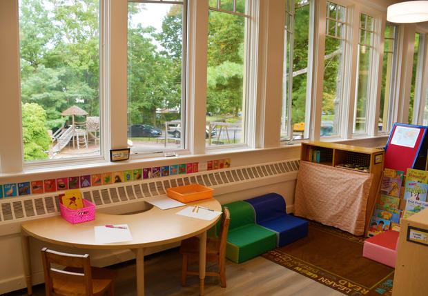 Yellow Room (4's classroom)