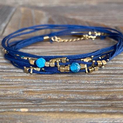 Bracelet Kayah Apatite