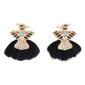 Boucles d'oreilles Zuni Black