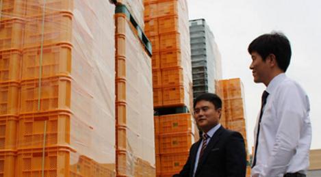 케이엠피, 사출 한번으로 생산 가능한 접이식 플라스틱 상자 개발