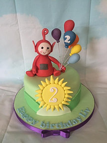 Teletubbies birthday cakes