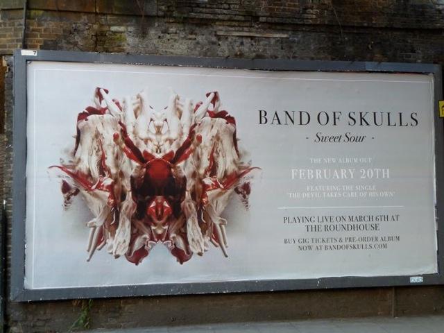 Band of Skulls London UK