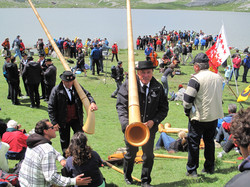 Alpine Horns at The Festival of The