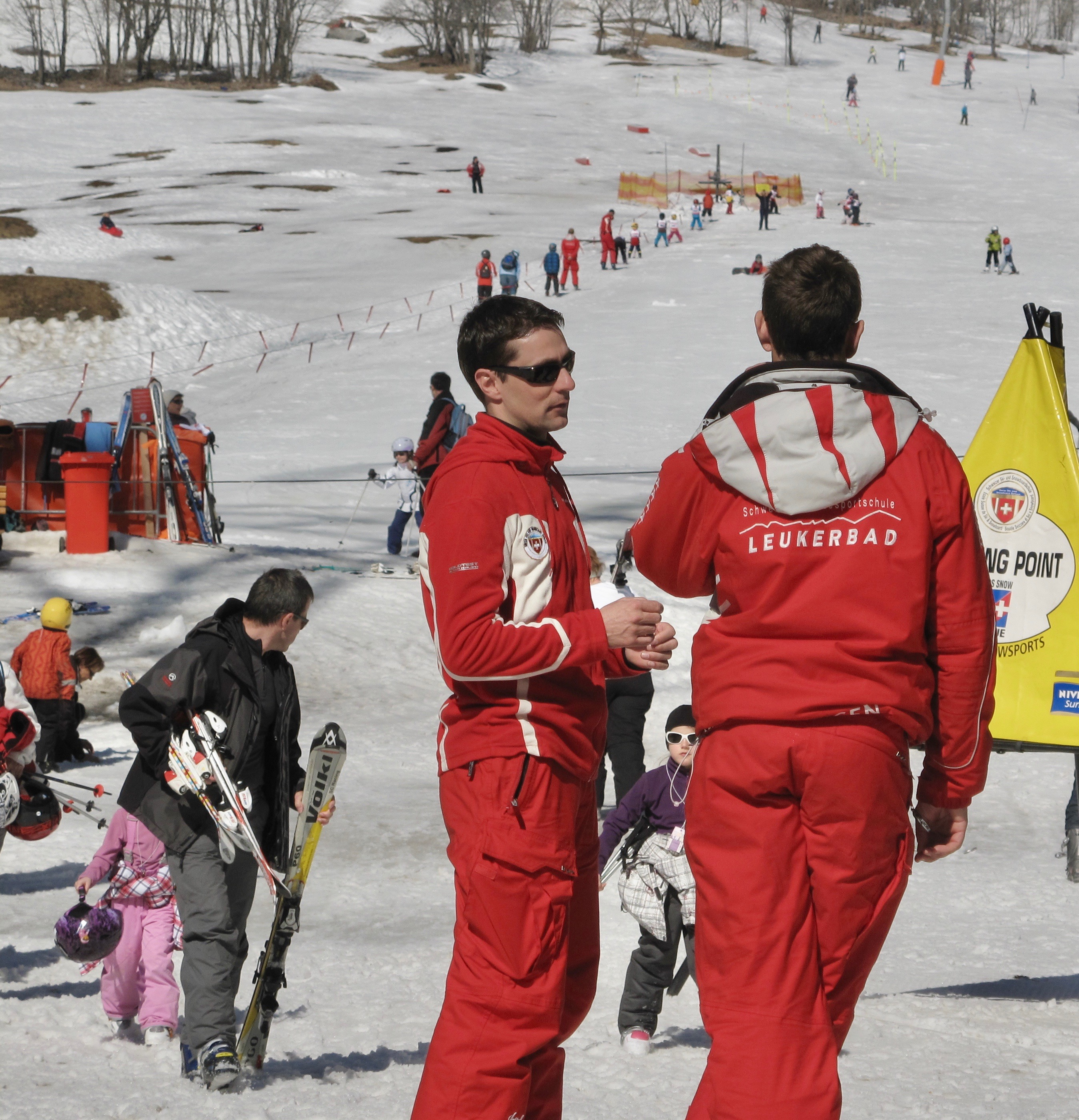 The Erli nursery ski area