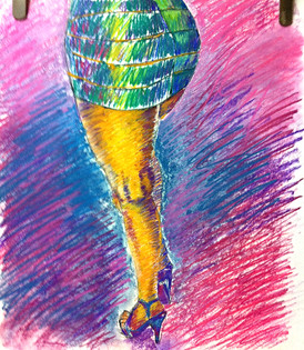 Salsa Legs - SOLD