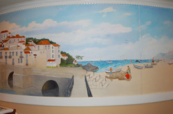 Tavira Restaurant Mural - Chevy Chase Md
