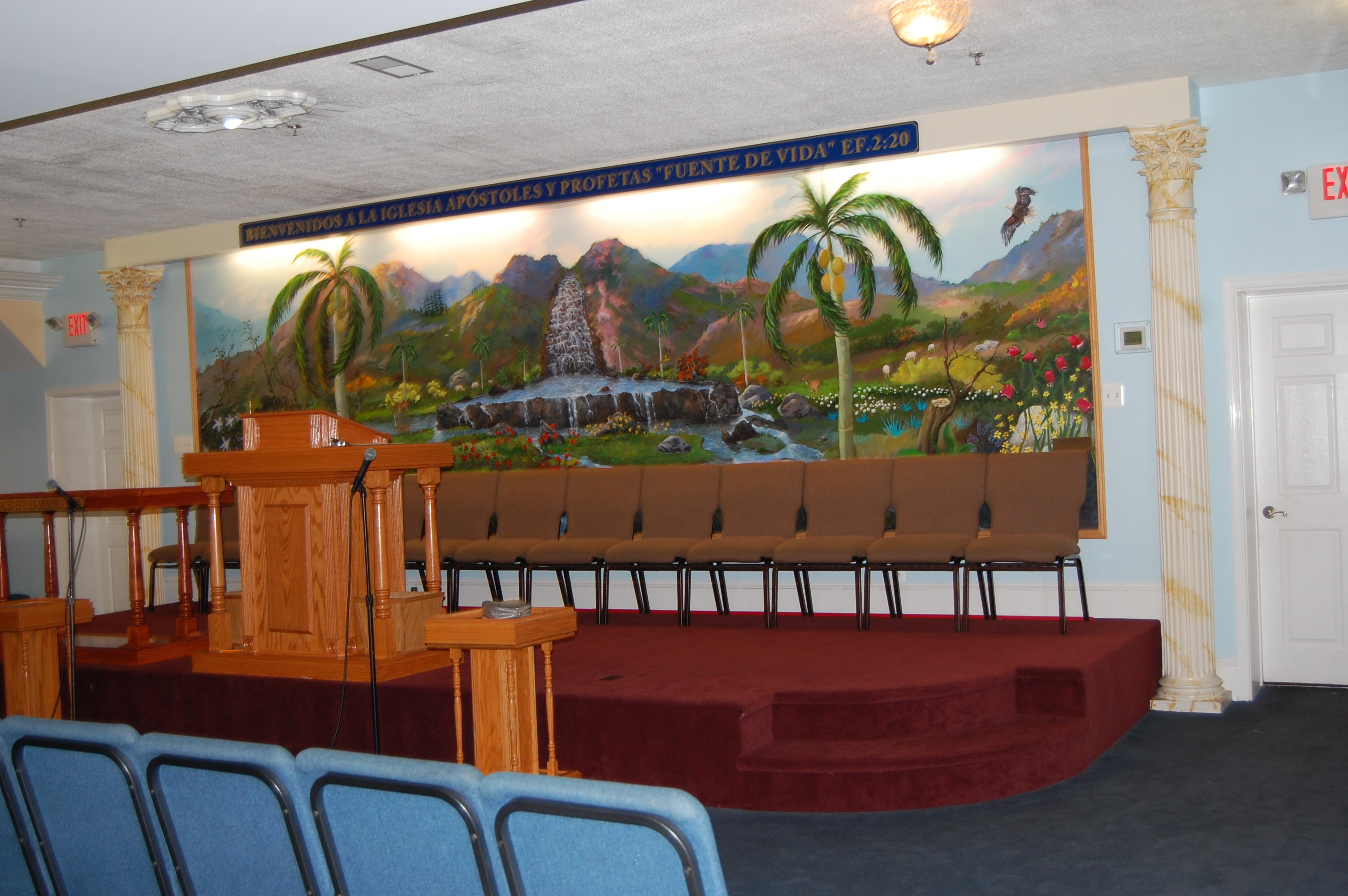 Church Indoor Mural