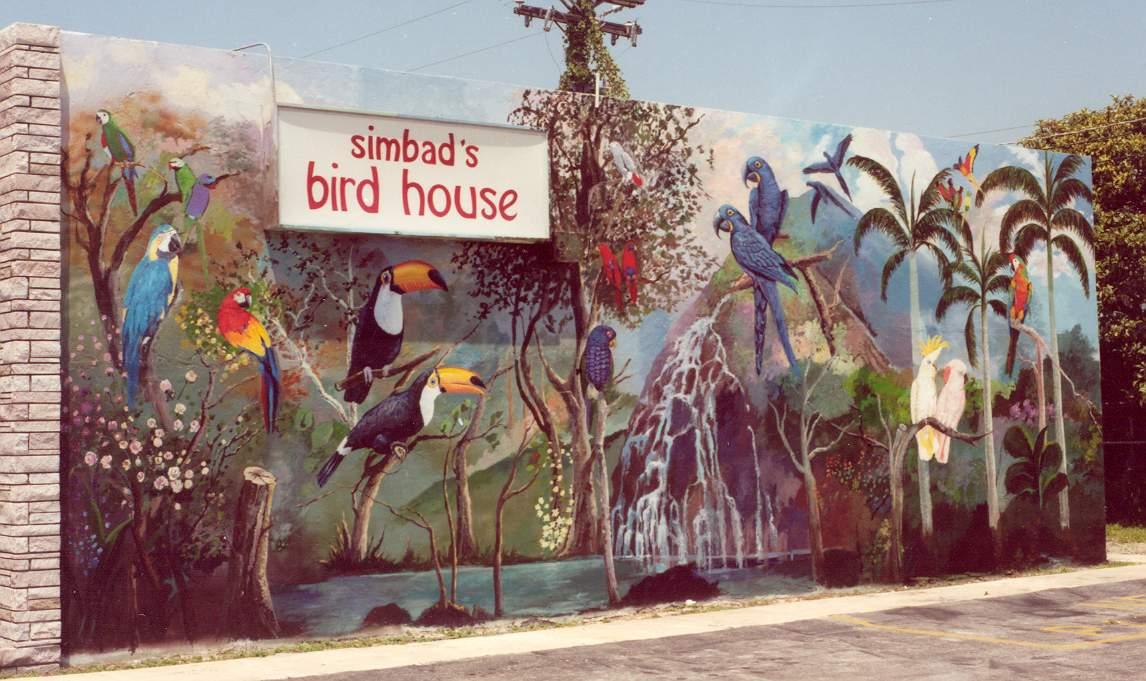 Simbads BirdHouse - Miami Fla