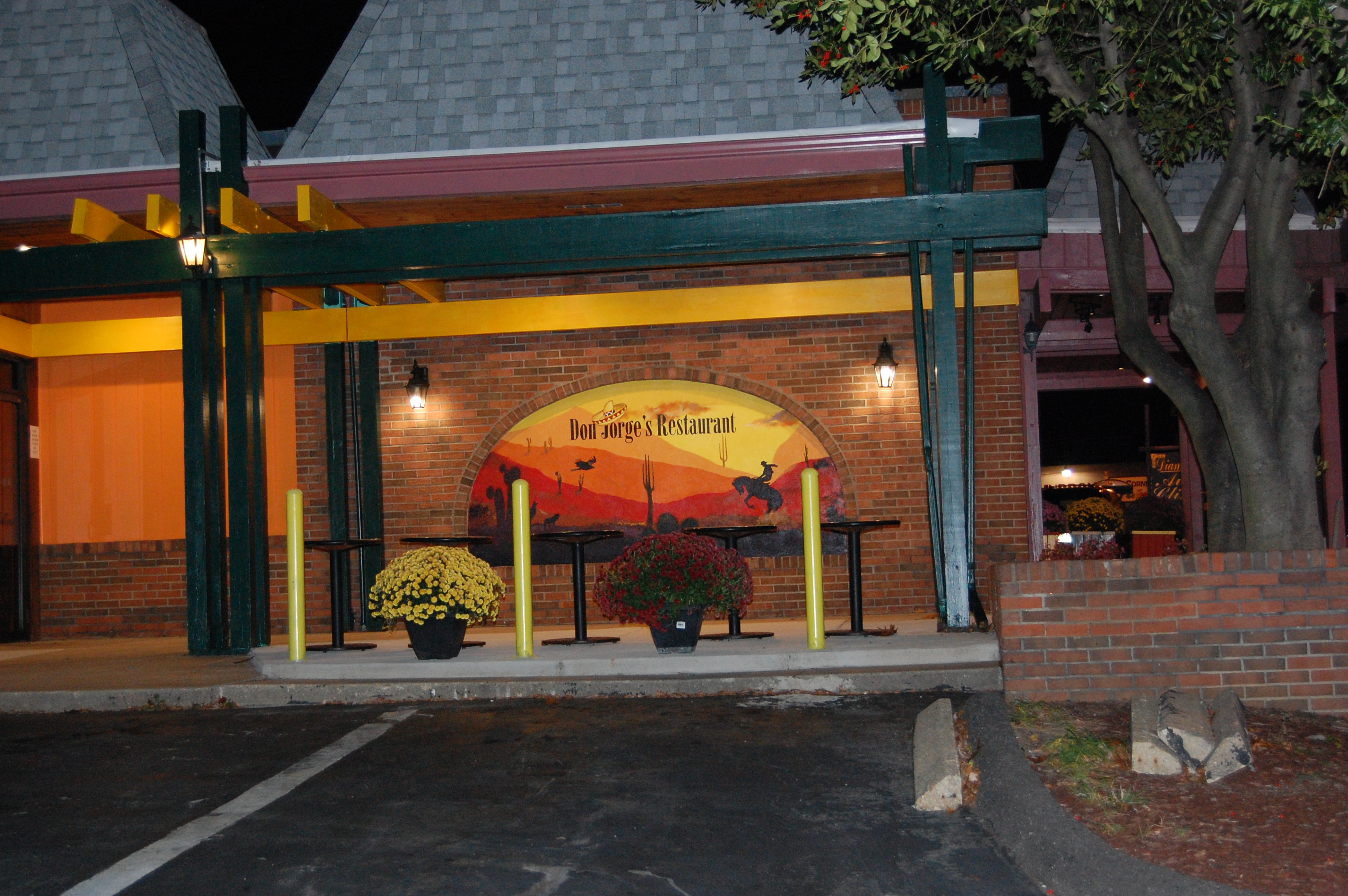 Don Jorge's Restaurant Outdoor Mural - Gaithersburg Md