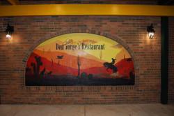 Don Jorge's Restaurant Outdoor Mural - Gaithersburg Md