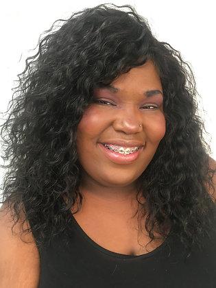 Dee - Premium Human Hair Wig - Curly