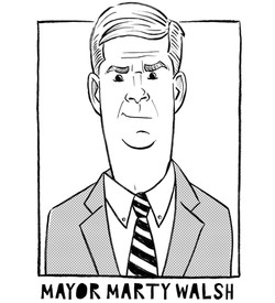 Boston Mayor Walsh
