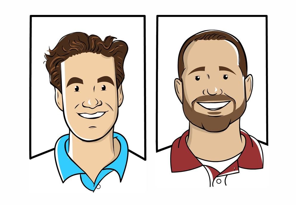 Staff Caricatures