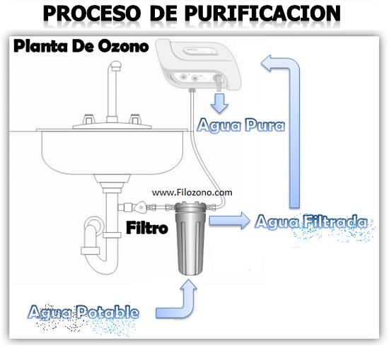 Que purifica el agua