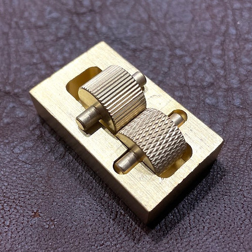 Solid Brass Edge Dye or Oil Box