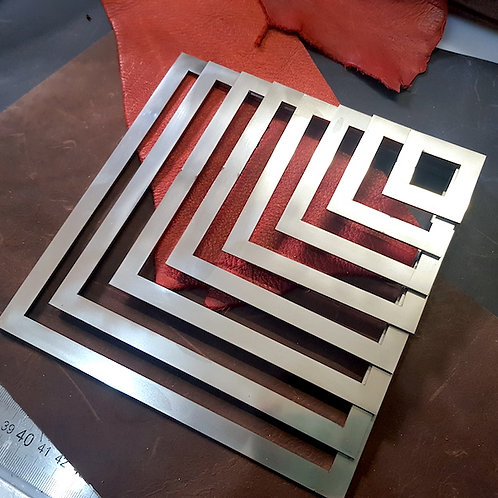 Stainless Steel Templates Various