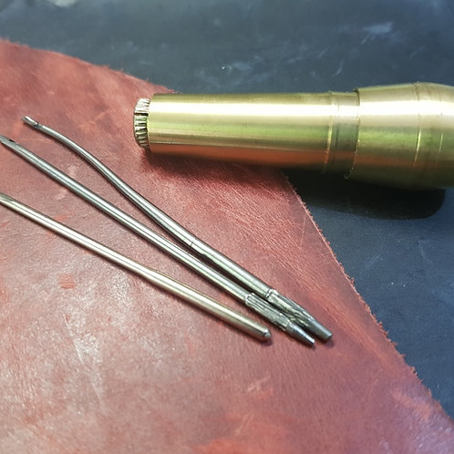 Stitching Awl Repair Kit - Brass