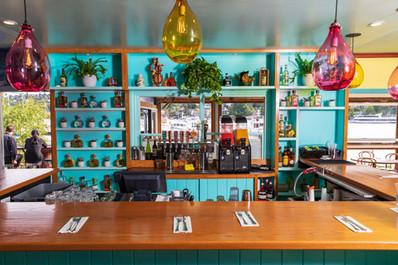 Seating - Liquor - Bar - Agua Verde Cafe