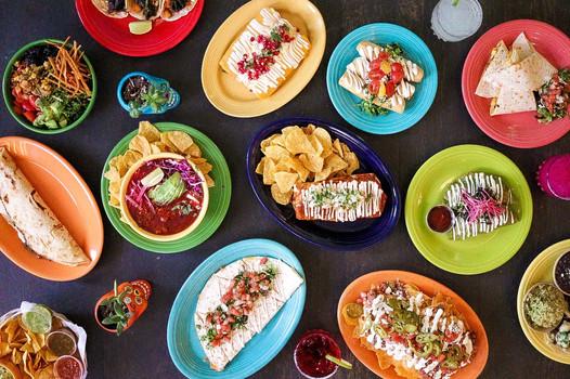 Agua Verde Cafe - Spread - New - Plates